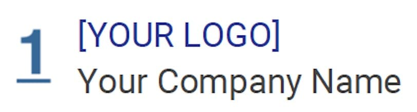 ndis invoice company logo and name requirement