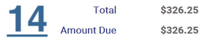 ndis invoice total amount requirement