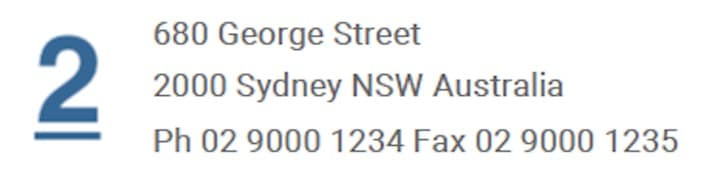 ndis invoice address and contact info requirement