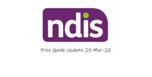price guide update 25 mar 2020