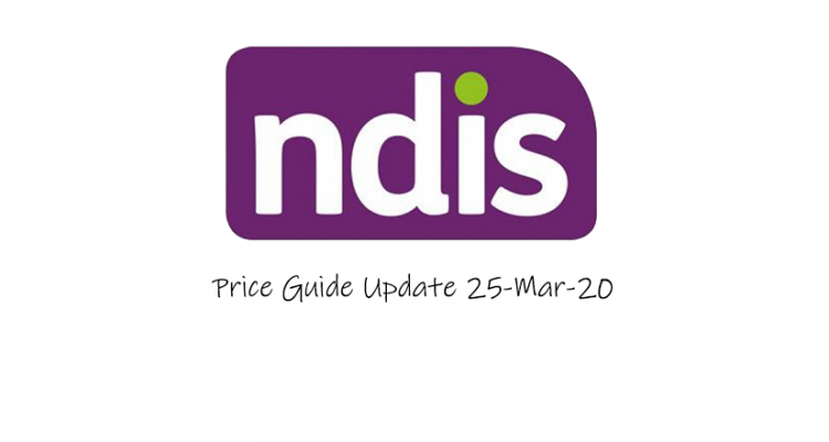 price guide update 25 mar 2020