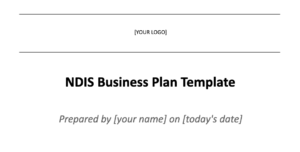 title of ndis business plan template