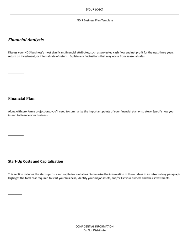 ndis business plan template part 9