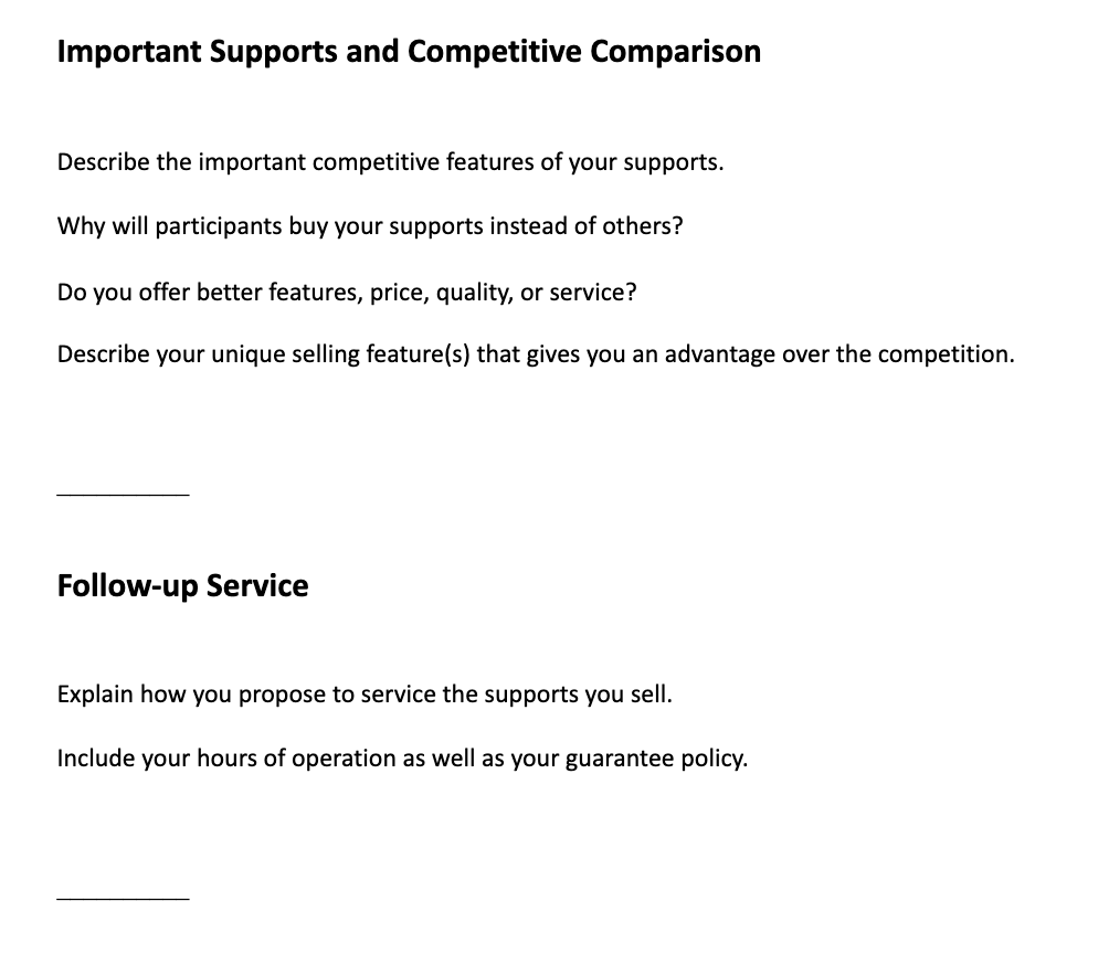 ndis business plan template part 3