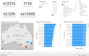 brevity ndis participant australia market dashboard