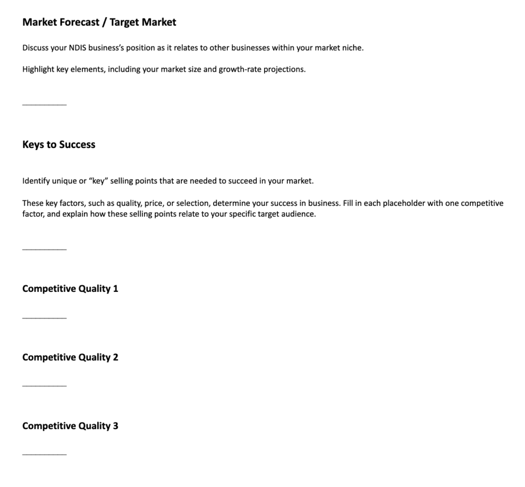 ndis business plan template part 4