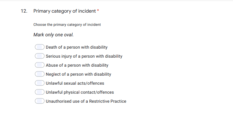 3 ndis incident form template category and details
